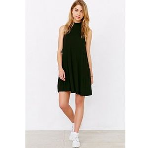 UO Silence + Noise mock neck swing mini dress